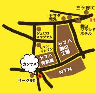 カンサス 磐田店マップ