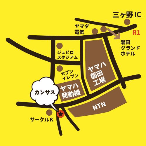 カンサス豊岡店MAP
